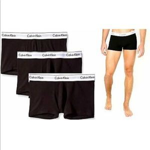 Calvin Klein Cotton Stretch Boxer Trunks 3 Pack